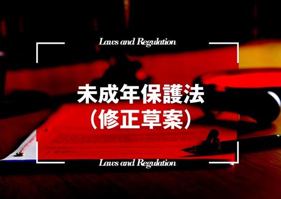 未成年保護法(修正草案)